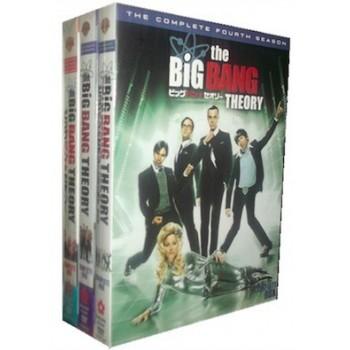 ビッグバン★セオリー シーズン1+2+3+4 DVD-BOX コンプリート·ボックス (22枚組)