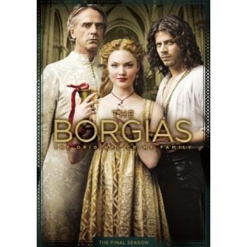 ボルジア家 愛と欲望の教皇一族 ファイナル·シーズン(5枚組) DVD-BOX