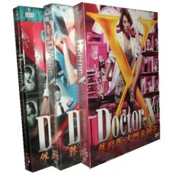 Doctor-X(ドクターX) ~外科医·大門未知子~ 1+2+3 DVD-BOX