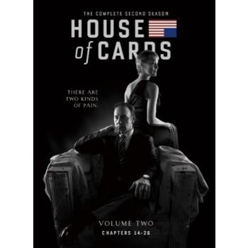 ハウス·オブ·カード 野望の階段 SEASON 1+2 DVD Complete Package(12枚組)