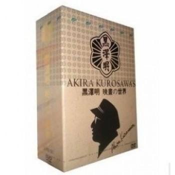 黒澤明 映画の世界 DVD-BOX 33枚組