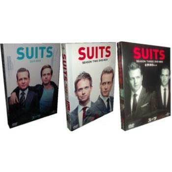 SUITS/スーツ シーズン1+2+3 豪華版 22枚組 DVD-BOX 全巻