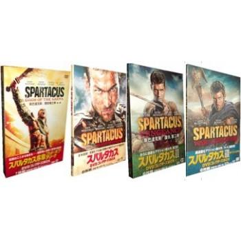 スパルタカス (序章+I+II+III) DVDコレクターズBOX 27枚組 全巻